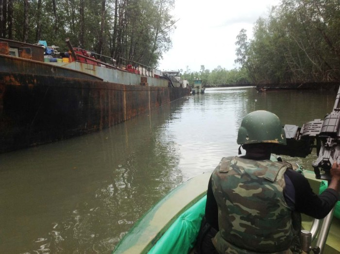 Rivers Niger Delta Avengers Nigeria Troops MEND