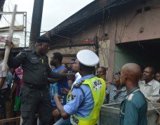 Traders and residents Affected By The Fire At Iyana-Ipaja lament (Photo Credit: VAnguard)