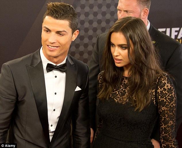 Christiano Ronaldo and Irina Shayk (Credit: Alamy)