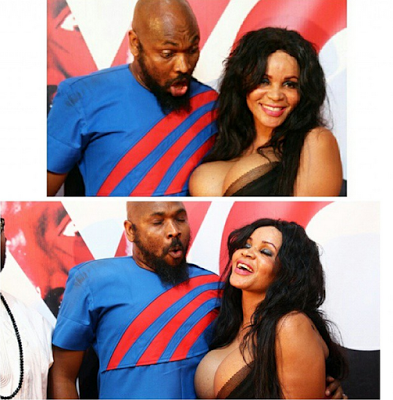 Yaw and Cossy orjiakor (Photo Credit: haykys photography)