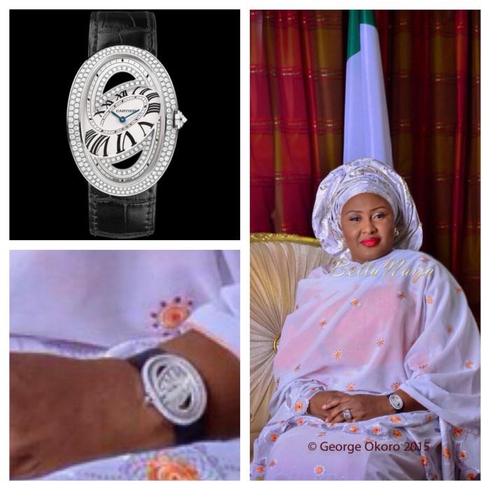 Aisha Buhari's Wrist Watch