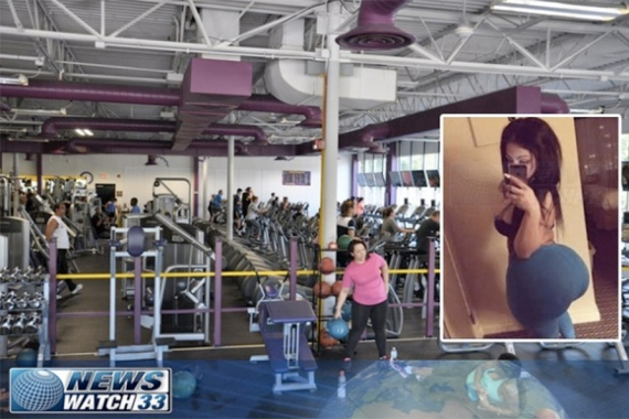 27-year-old Serena Beuford, from Boston had her butt implant ruptured during work out at a gym. (Photo Credit: NewsWatch 33)
