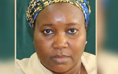 General Muhammadu Buhari on Tuesday, June 30, 2015 appointed Mrs Amina Bala Zakari as the acting chairman of the Independent National Electoral Commission, INEC, thereby overruling Jega's appointment of Ahmed Wali initially. (Photo Credit: Peoplesdailyng.com)