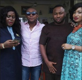 Nollywood actress Tonto Dike h had her marriage introduction with her boyfriend, Oladunni Churchill in Port Harcourt. (Photo Credit: Tori.ng)