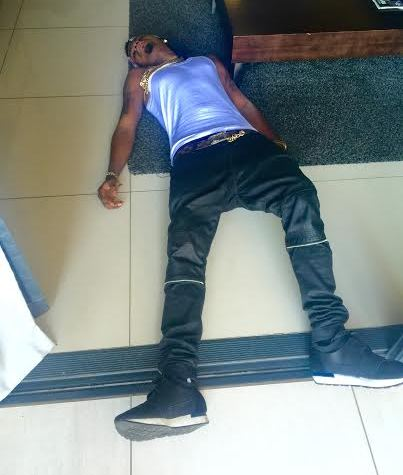 """PR Fail: The photo of the ''dead"""" Skiibii's sent to Linda Ikeji by the artiste's manager."""