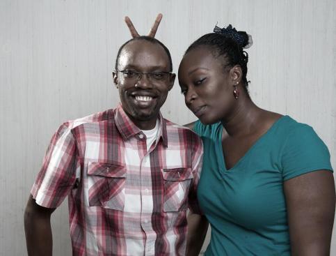 Emeka Jeffrey Onuoha and wife | Facebook
