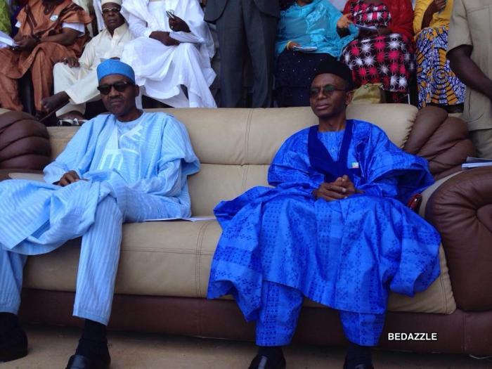 Muhammadu Buhari and Nasir El Rufai