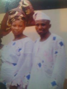 Mrs Idongesit Comfort and her husband Ekpo   Vanguard.