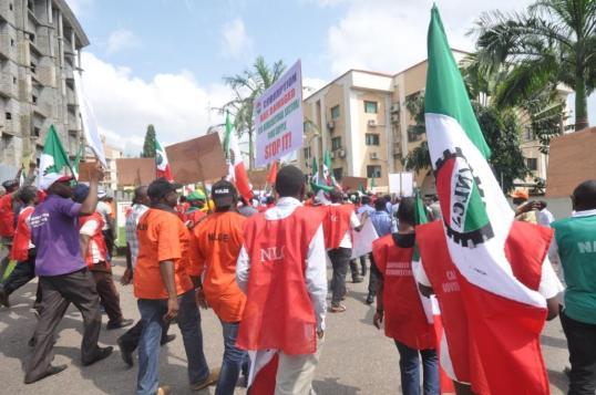 Trade Union Congress of Nigeria, TUC, Salaries , Governors
