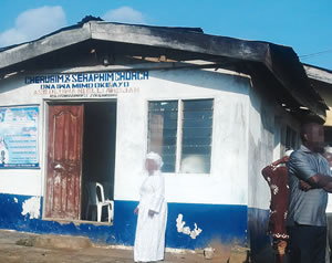 The church where a self-acclaimed prophet stabbed himself to death in ikotun area of Lagos State | Punch