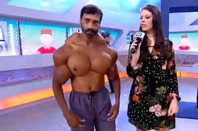 Valdimir underwent a shocking transformation because he was tired of being slim.