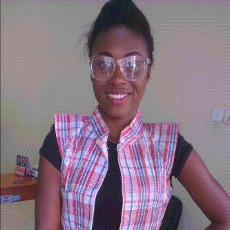 Student of Amborse Ali University Ekpoma rocked a Ghana-must-go-inspired jacket to school on Wednesday, September 16, 2015.
