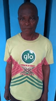 65-year-old landlord, Joseph Olaleye has been arrested for allegedly setting ablaze the 3-year-old son of his tenant, Abdulahi Razaq on Monday, August 30, 2015 in Ogun State.