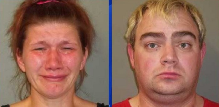 Couple arrested for raping 16-year-old boy.