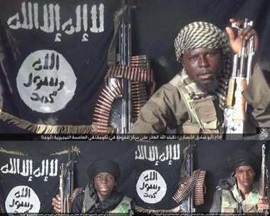 Boko Haram claims these three men were in charge of the suicide bombers behind Abuja explosions on Friday, October 2, 2015 | ISWAP/Twitter