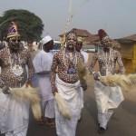 FILE: Ifá priests during a ritual in Ile Ife in Osun State