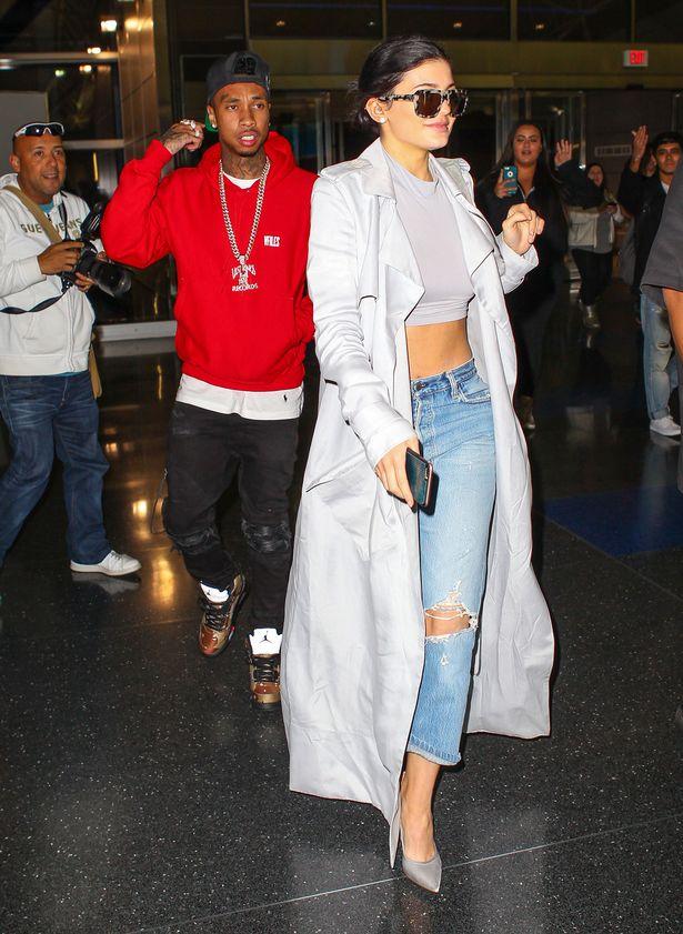 Kylie Jenner and Tyga | AKM-GSI