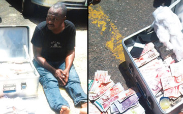42-year-old Rafiu Olusamokun, is currently in the custody of the Lagos State Police Command for allegedly producing fake foreign and local currencies, which allegedly run into millions of naira | Punch