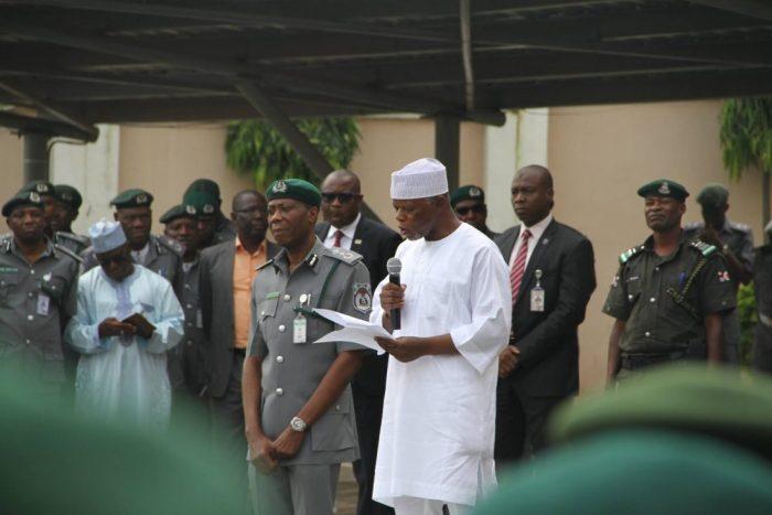 Comptroller-General of Customs, Col. Hameed Ali