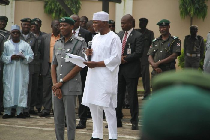 Hameed Ali Comptroller-General of Customs, Col. Hameed Ibrahim Ali