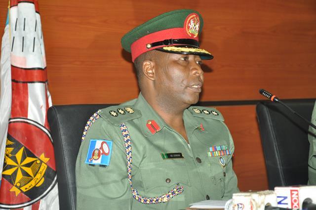Colonel Sani Usman, Nigerian Army Spokesman