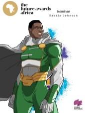 sakaja johnson - The Future Awards Africa Prize in Public Service