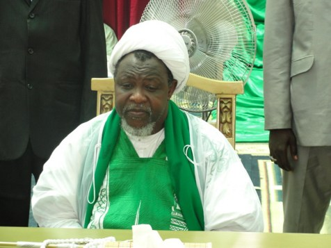 Islamic Movement leader Ibrahim El Zakzaky