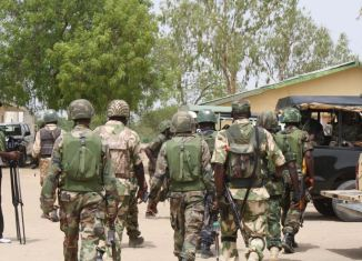 operation soldiers Nnamdi Kanu rivers troops soldiers army boko haram pastor