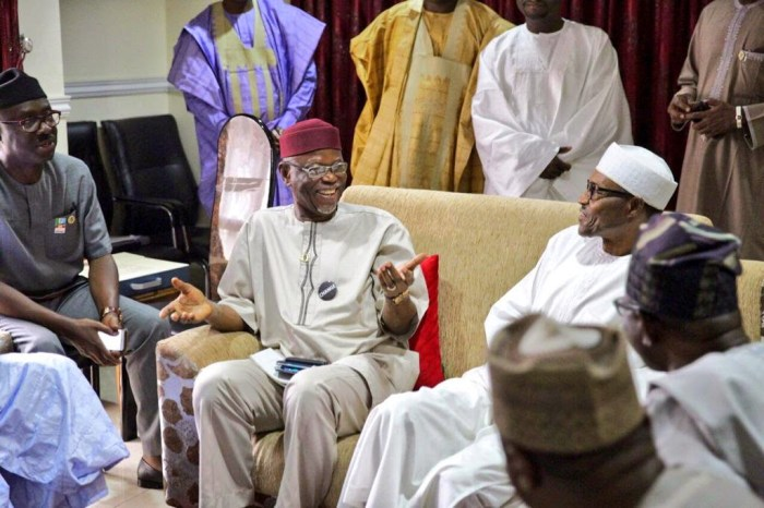 Oyegun, Buhari, Election, APC, NEC