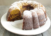 Chocolate Pumpkin Bundt Cake 1