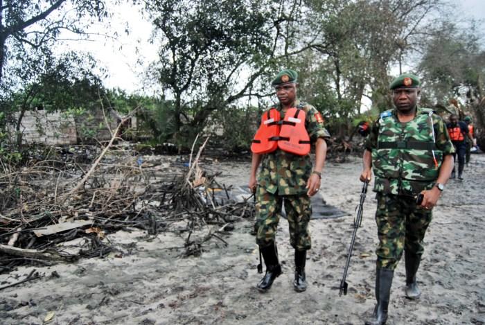 Niger Delta Nigeria Troops