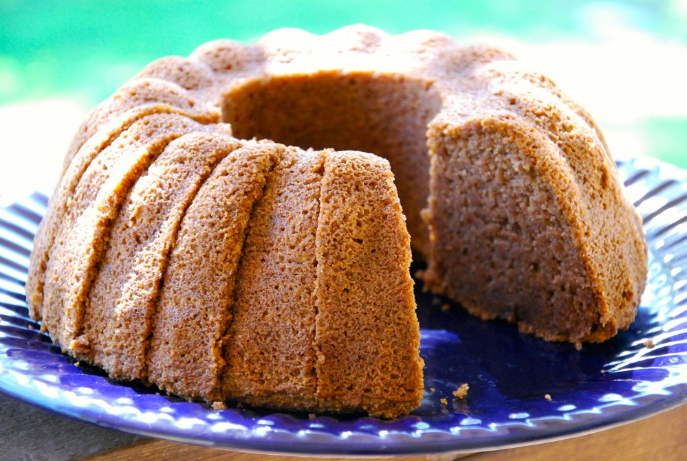 Paleo Vanilla Bundt Cake