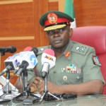 Nnamdi Igbos Nigeria's Chief of Defence Staff, General Gabriel Olonisakin DHQ Suicide bombers female