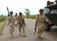 Troops, Militiamen, Bauchi, Arrest