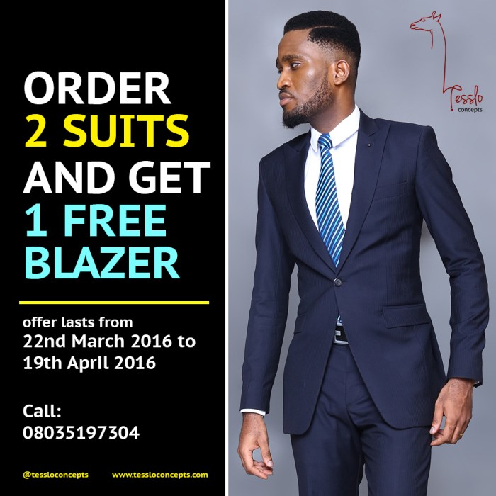 order 2 suits - a