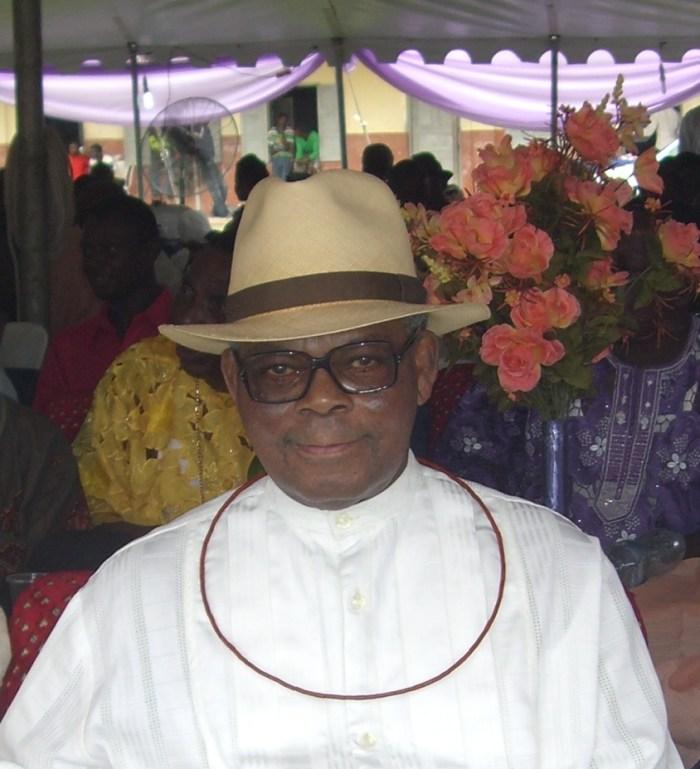 Late former Governor of Delta State, Felix Ologun Ibru.