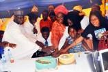L-R: Chairman NCP, Dr. Yunusa Tanko; Senator Bode Olajumoke; Barr. Mohammed Fawehinmi; Gani's Widow, Mrs. Ganiyat Fawehinmi; Founder Gani Fawehinmi Memorial Hospital, Dr. Hafsat Fawehinmi; Gani's Granddaughter, Bunmi Oni & President Women Arise, Dr. Joe Okei-Odumakin @ the Opening Of Gani Fawehinmi Memorial Hospital For Low Cost Health Services By Daughter Of Late Gani Fawehinmi On April 22nd, 2016 at Agbara Estate, Ogun State