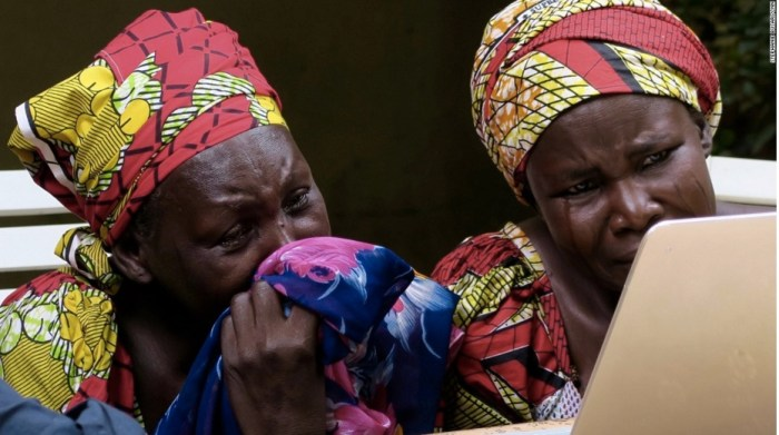 Chibok mothers who viewed the video   CNN