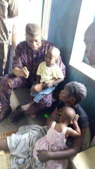Ondo State Governor, Dr. Olusegun Mimiko condoles with family of slain Falae's Guard, in Akure, on Monday, April 11, 2016 | Ondo TV