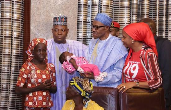 Amina Ali Muhammadu Buhari Boko Haram Chibok