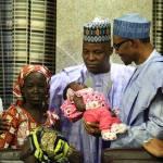 Muhammadu Buhari Nigeria chibok amina ali