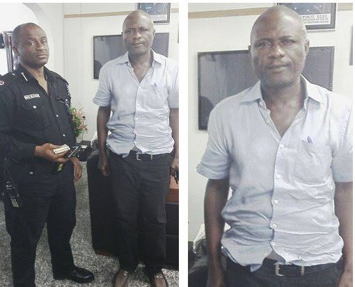 Lekan Shonde arrested on Monday, May 9, 2016, a prime suspect in the murder of his wife, Ronke Shone.