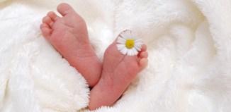 feet baby sleeping