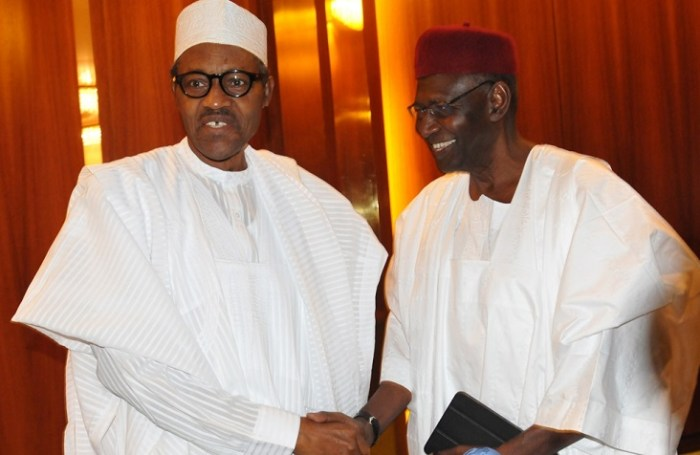 Buhari, Abba Kyari elections