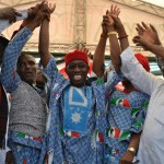 Ifeanyi Okowa, Uzo Nwandu, Kingsley Otuaro