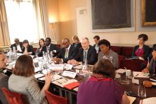Governor Olusegun Mimiko (3rd right) at the Chatham House, London Conference on Thursday, June 16, 2016 | John Paul Akinduro
