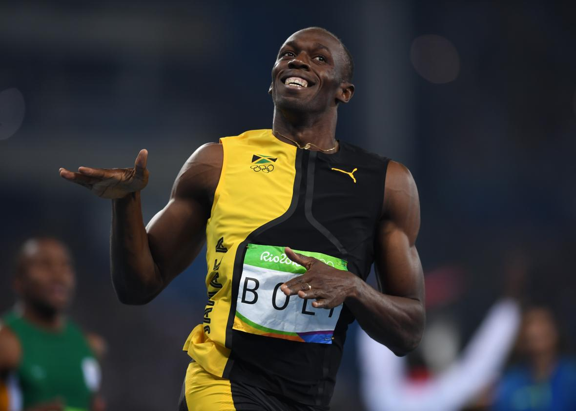 Usain Bolt: Olympic Legend Makes History With 100-Meter ...