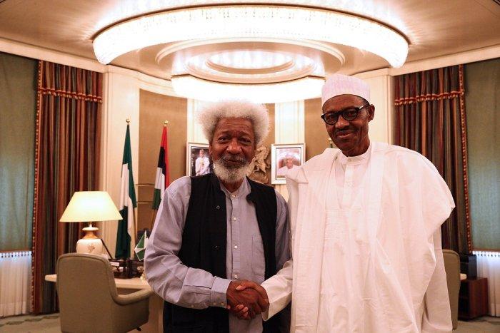 Wole Soyinka , Muhammadu Buhari