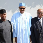 Muhammadu Buhari, Justice Walter Samuel Nkanu Onnoghen Yemi Osinbajo, chief justice of nigeria