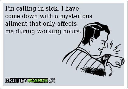 calling-in-sick